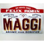Maggi-felix-potin-emaille-enamel-cut